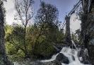 Acueducto da central eléctrica de Pina.