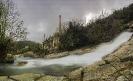 Fábrica de luz de Segade no río Umia.