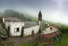 Santuario de Santo André de Teixido.