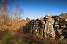 Pedra dos defuntos no lugar de Fragoso.