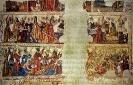 Pinturas murais da catedral de Mondoñedo.