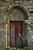 Portada da igrexa de San Fiz de Cangas.