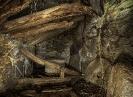 Interior de muíño no regueiro do Esqueiro.