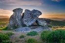 Pedra dos mouros da parroquia de San Xurxo de Codeseda.